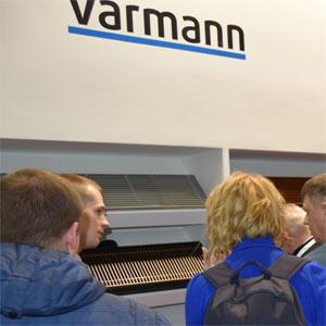 Конвекторы и дизайн-радиаторы Varmann на выставке Aqua-Therm Moscow 2016